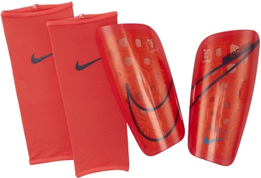 Nike Mercurial Lite Shin Guards SP2120 644 Red Black XL
