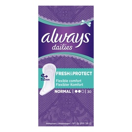 Always Dailies Fresh & Protect Normal Pantyliners 30pcs