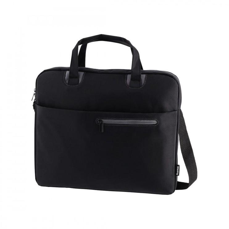 Сумка для ноутбука Hama, черный/серый, 14.1″