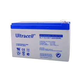 BATTERY 12V 7AH F1 PB ULTRACELL
