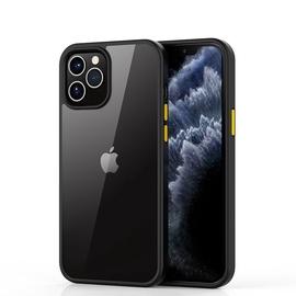 Чехол Devia Devia Shark Series Shockproof Case For IPhone 12 Mini, прозрачный/черный, 5.4 ″