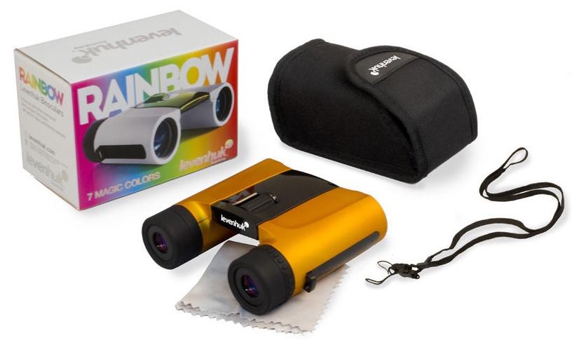 Levenhuk Rainbow 8x25 Orange Binoculars
