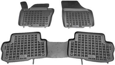 Gumijas automašīnas paklājs REZAW-PLAST Seat Alhambra 5 Seats 2010, 3 gab.
