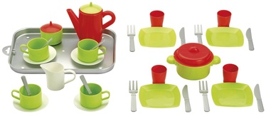 Ecoiffier Dining Set On Tray 8/972S