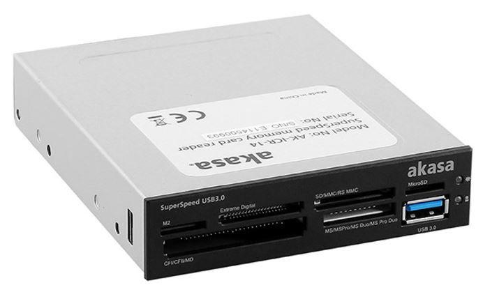 """Akasa Card Reader USB 3.0 6-Port 3.5"""""""