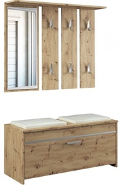 Top E Shop Roma Hall Unit Set Artisan Oak