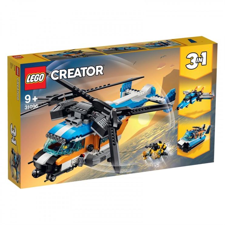 Konstruktorius Lego Creator Twin-Rotor Helicopter 31096