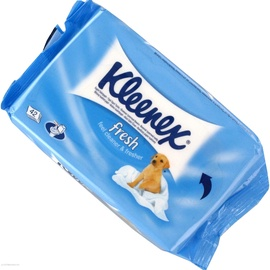 Drėgnas tualetinis popierius Kleenex Wet Toilet Paper Spare, 42 vnt.