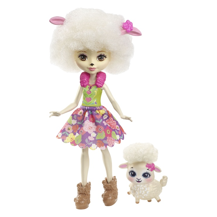 Кукла Mattel Enchantimals Lorna Lamb FCG65