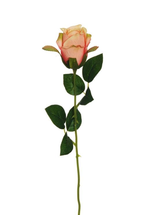 Искусственный цветок Artificial Flower Rose Pink 55cm 80-347985