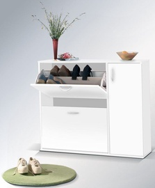 Maridex Shoe Shelf DRZWI White