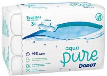 Влажные салфетки Dodot Aqua Pure, 144 шт.