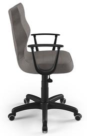 Офисный стул Entelo Norm AL02, коричневый/черный