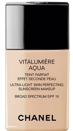 Chanel Vitalumiere Aqua Fluid Ultra-Light Makeup SPF15 30ml 40