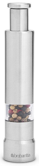 Brabantia Get Together Salt and Pepper Crusher Set Matt Steel
