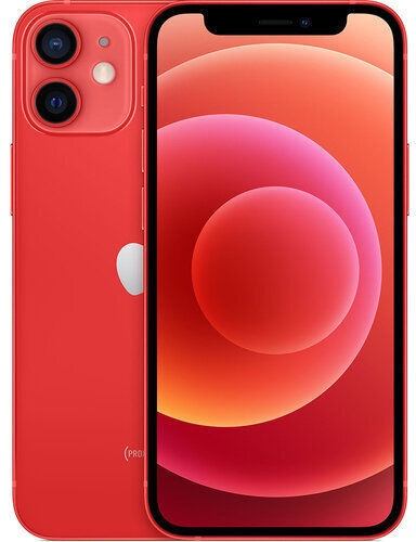 Mobilusis telefonas Apple iPhone 12 mini Red, 64 GB