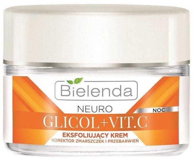 Bielenda Neuro Glycol + Vit.C Exfoliating Night Cream 50ml