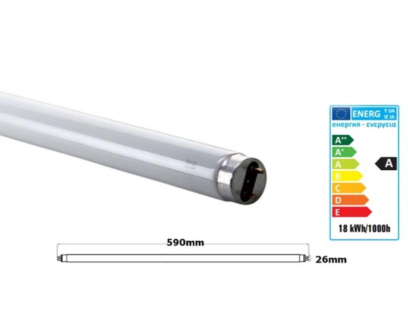 Spectrum T8, 18W, G13, 3000K, 1650lm