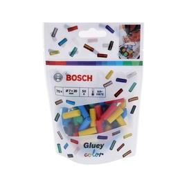 Klijų strypeliai Bosch Green Gluey, įvairių spalvų, 70 vnt.