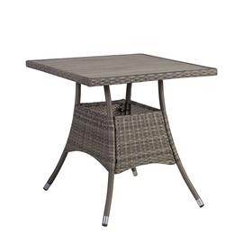 Home4you Paloma Garden Table 74x74cm Brown/Grey