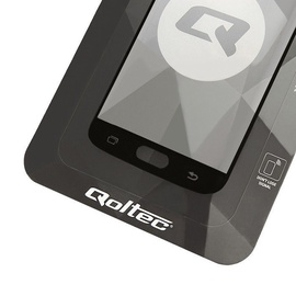 Qoltec Premium Tempered Glass Screen Protector For Huawei P Smart Black