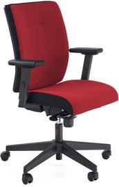 Офисный стул Halmar Bravo C-11, черный/красный