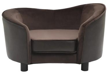 Кровать для животных VLX, коричневый, 490x690 мм
