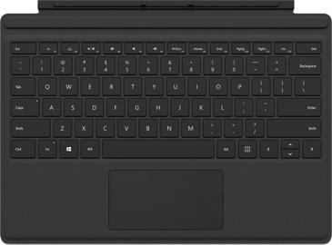 Клавиатура Microsoft Surface Pro Type Cover M1725 EN, черный, беспроводная