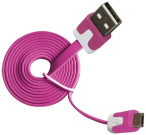 Vakoss Cable USB to USB-micro Pink 1m
