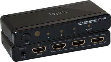 LogiLink 4K HDMI Switch 3-Port