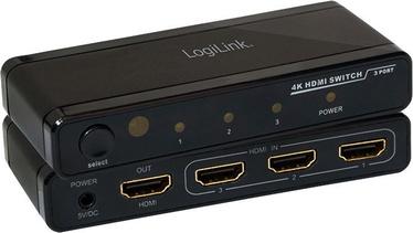 LogiLink 4K HDMI Switch 3-Port
