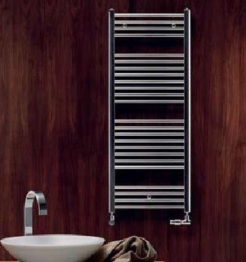Zehnder Aura Towel Dryer 500x775mm Chrome