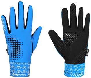 Перчатки Force Extra 17 Full Gloves Blue Black XXL