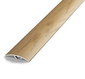 Katteliist, alumiinium, B4, 1,8 m, hele tamm
