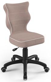 Детский стул Entelo Petit Size 4 JS08, черный/кремовый, 350 мм x 830 мм