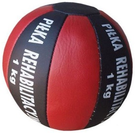Allright Medical Synthetic Leather Ball 1kg Black / Red