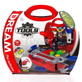 Žaislinis lagaminėlis įrankiai