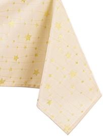 Скатерть AmeliaHome Stardust, золотой, 3000 мм x 1400 мм