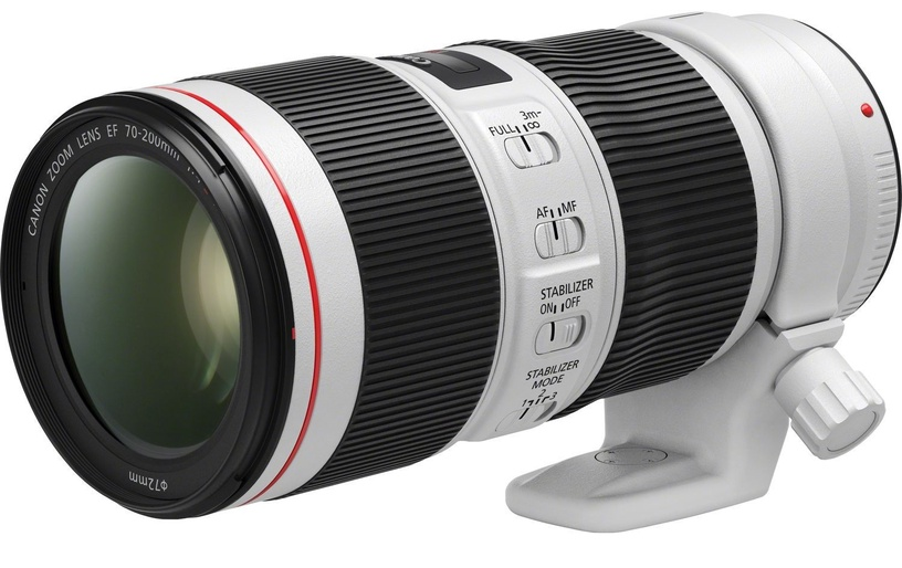 Canon EF 70-200mm f/4L IS II USM Lens White