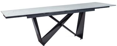 Signal Meble Table Cavalli II White/Black 160x90cm