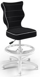 Entelo Petit Black HC+F Size 3 Children Chair JS01 White/Black