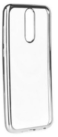 Mocco Electro Jelly Back Case For Huawei Mate 10 Lite Transparent/Silver