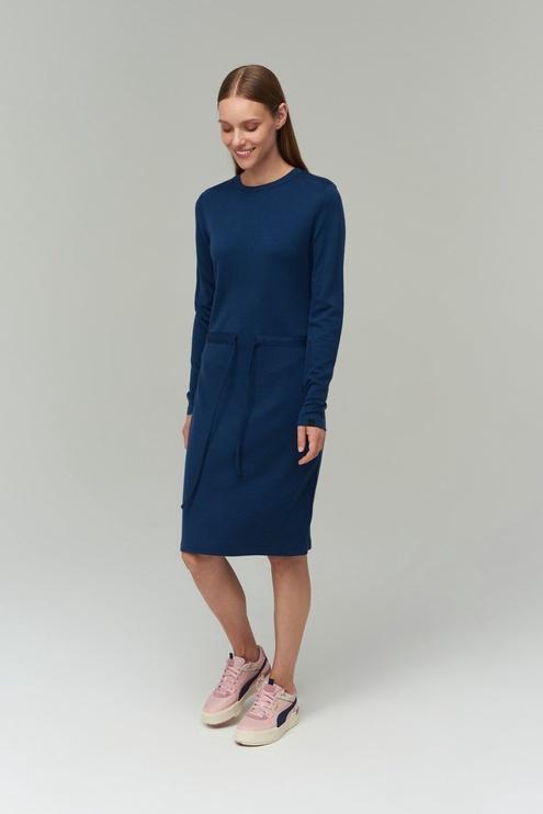 Audimas Merino Bamboo Blend Dress Blue S
