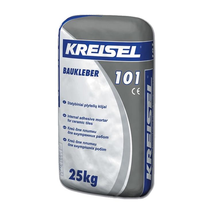 Plytelių klijai Kreisel Baukleber101, 25 kg