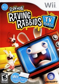 Rayman Raving Rabbids TV Party Wii