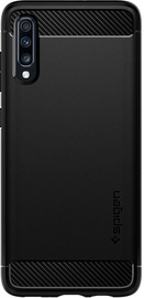 Spigen Rugged Armor Back Case For Samsung Galaxy A70 Matte Black