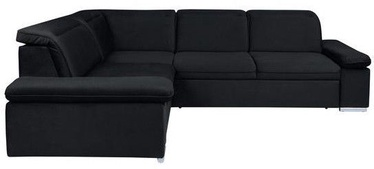 Kampinė sofa Black Red White Darby Black, 268 x 218 x 94 cm
