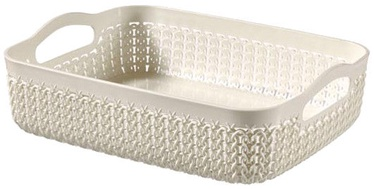 Curver Basket Knit A5 26x20x7cm White
