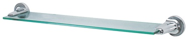 Spirella Lagune Glass Shelf 58.5cm Metal/Glass
