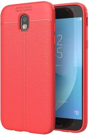 Mocco Litchi Pattern Back Case For Samsung Galaxy A5 A520 Red